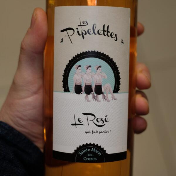 Recto vin les pipelettes rose ATELIER LAVARENNE fleuriste Lyon