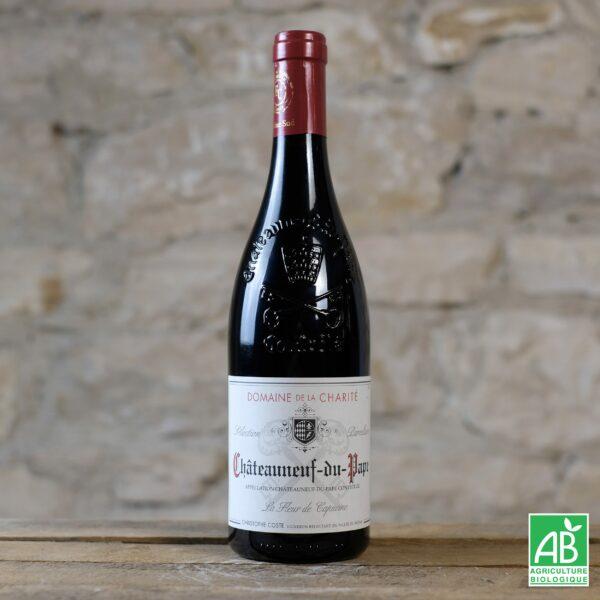 vin-biologique-bouteille-de-vin-rouge-chateauneuf-du-pape