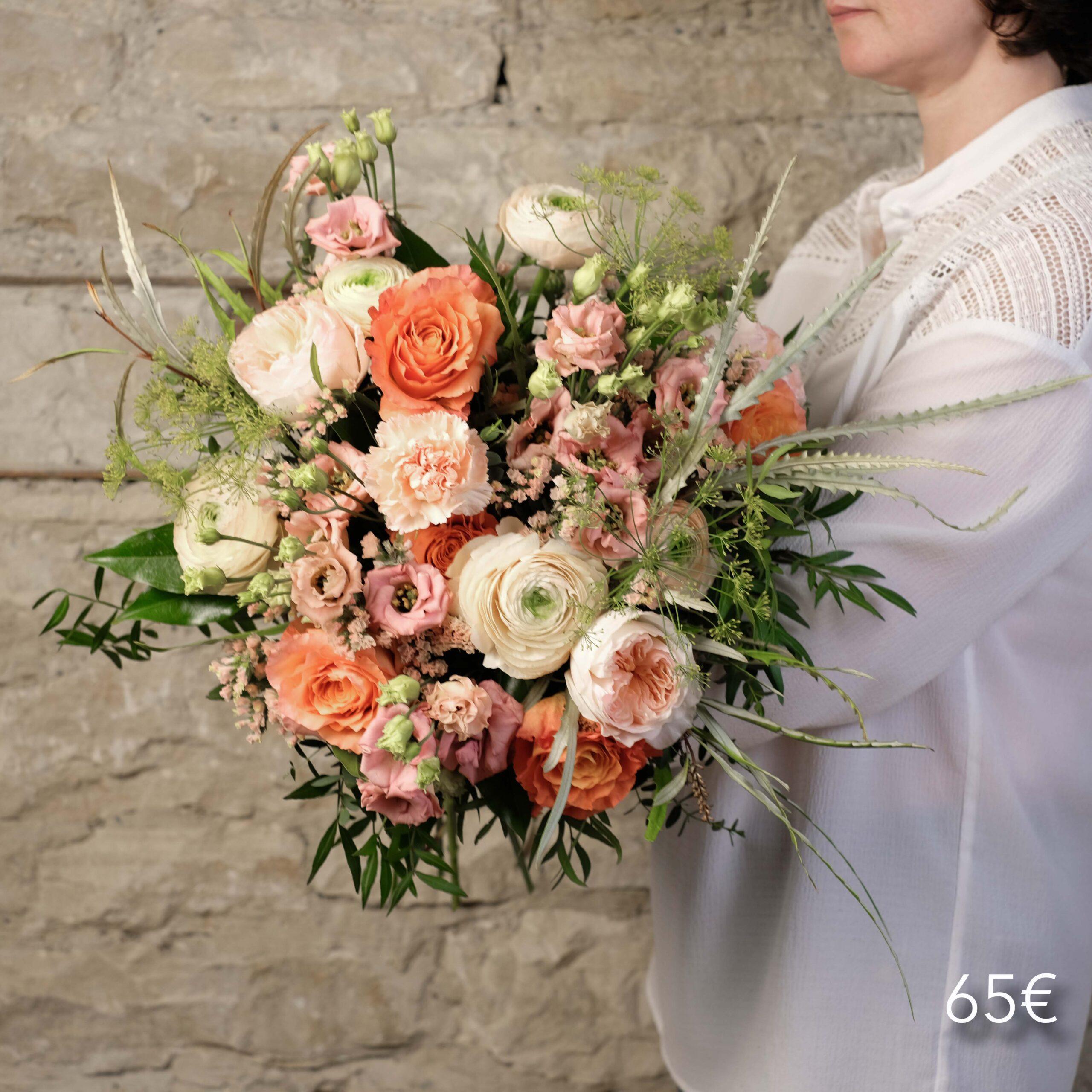 bouquet-pecher-mignon-65-atelier-lavarenne-fleuriste-lyon