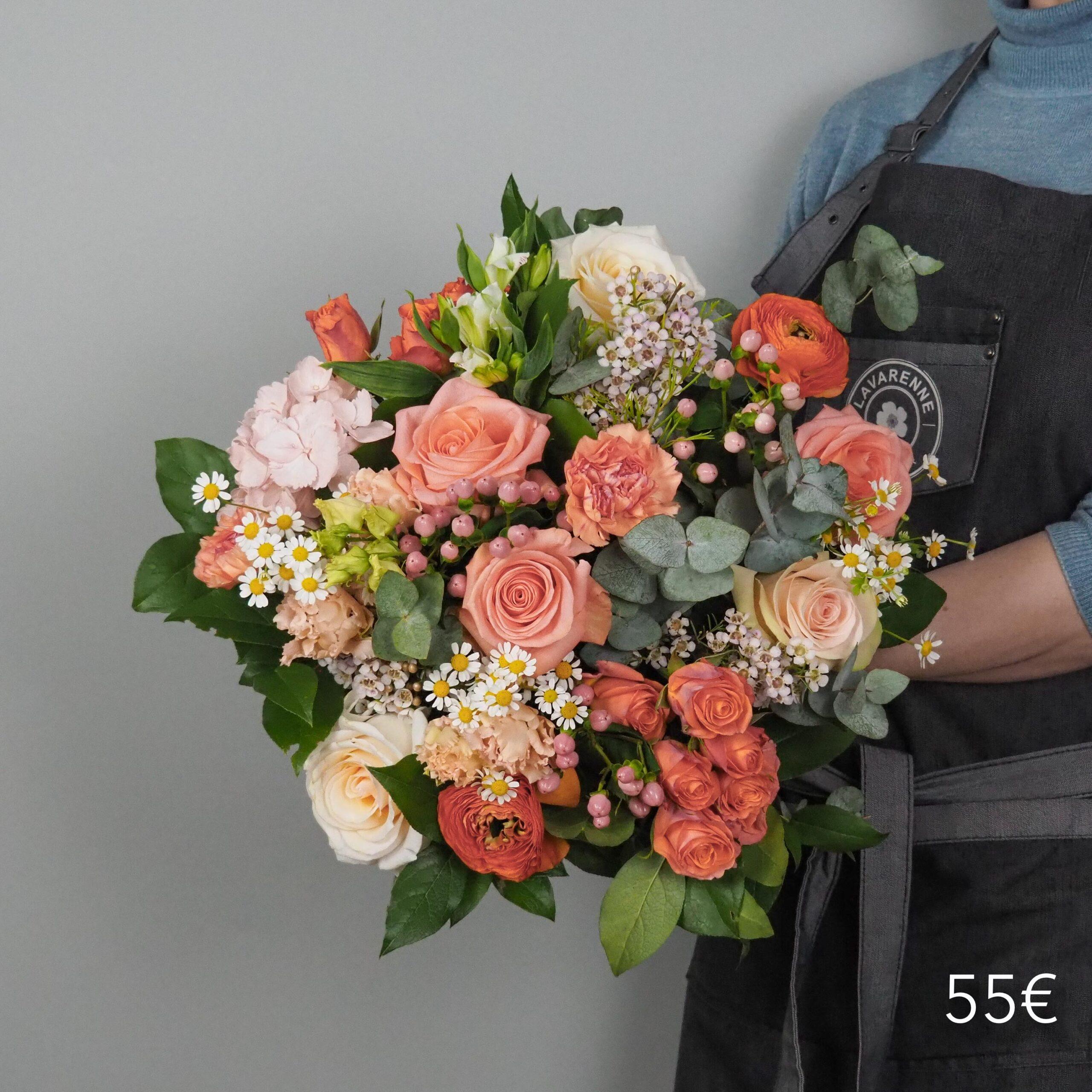 bouquet-pecher-mignon-atelier-lavarenne-fleuriste-lyon-55