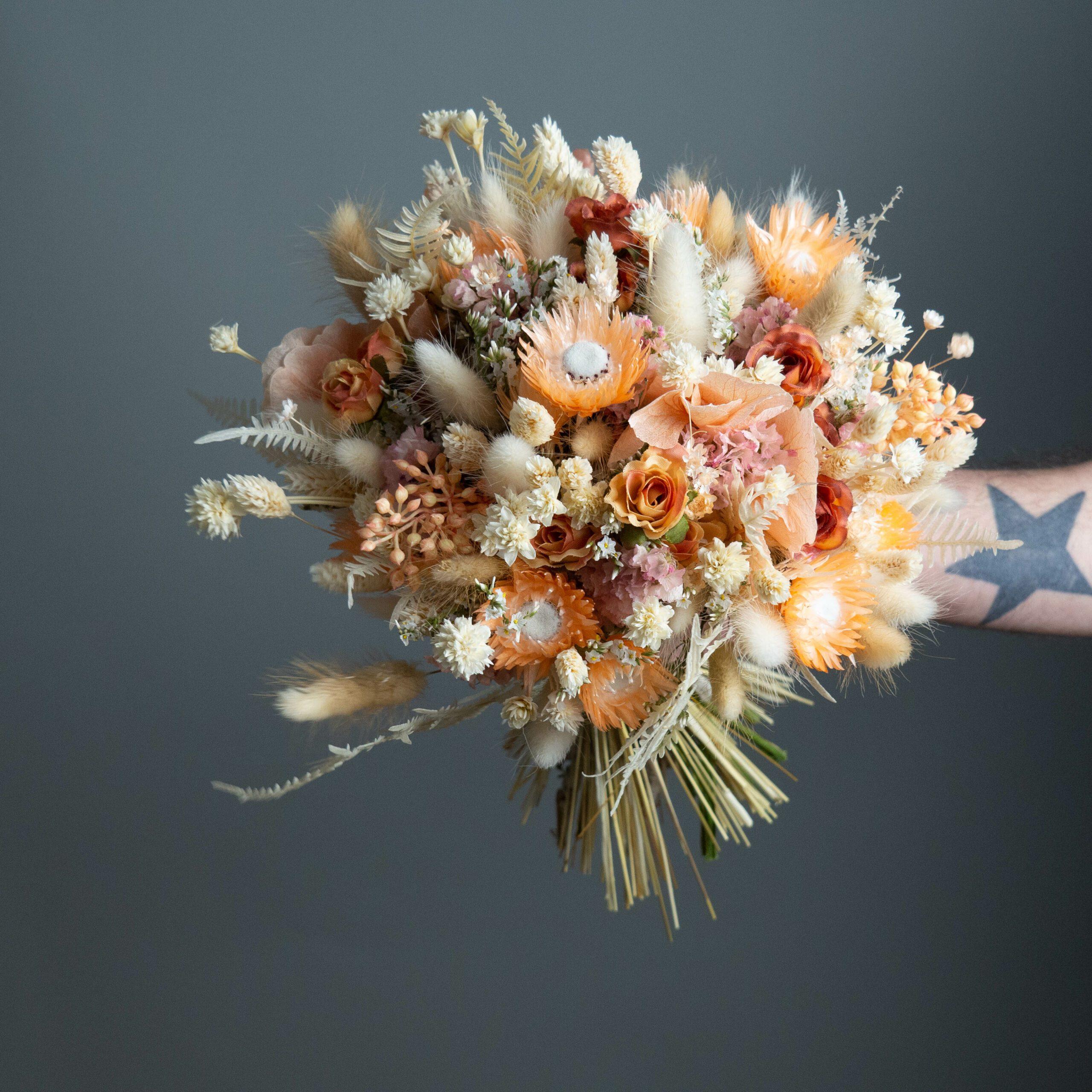 fleurs séchées atelier lavarenne fleuriste lyon