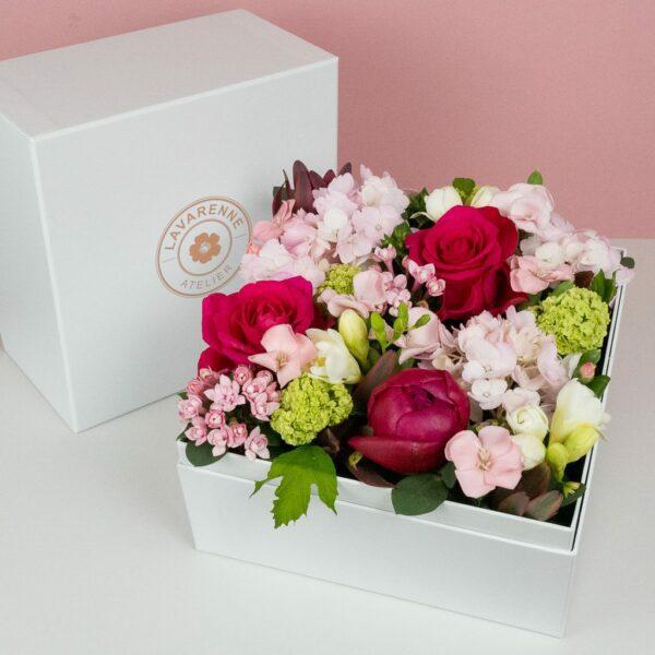 coffret-fleurs atelier lavarenne lyon