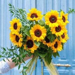 bouquet du mois tournesol